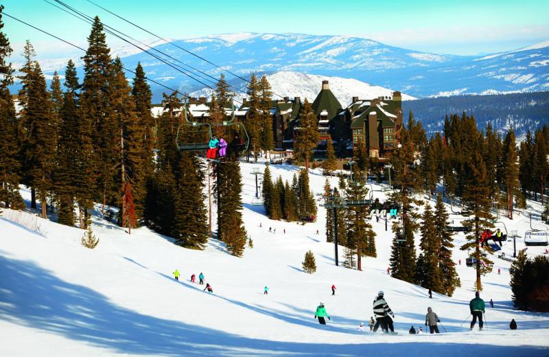 Skiing available at Ritz-Carlton Lake Tahoe.