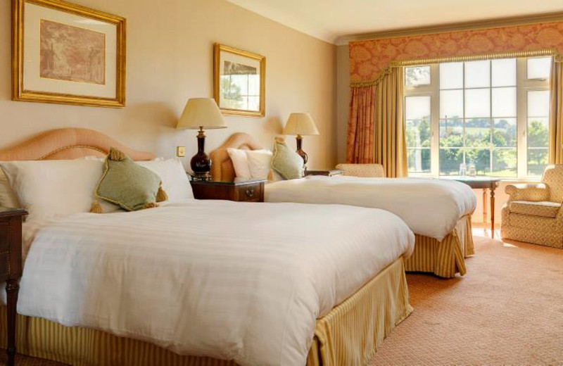 Guest room at Nuremore Hotel, Country Club and Golf Course.