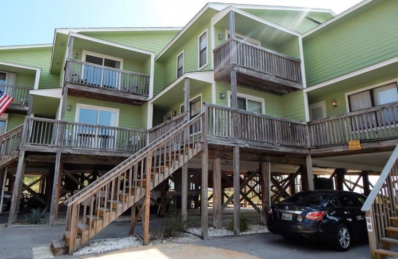 Rental exterior at ACP Vacation Rentals.