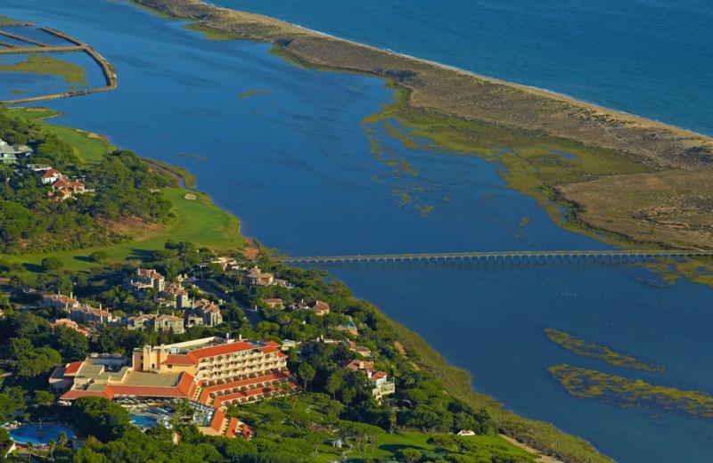 Aerial view of Hotel Quinta do Lago.
