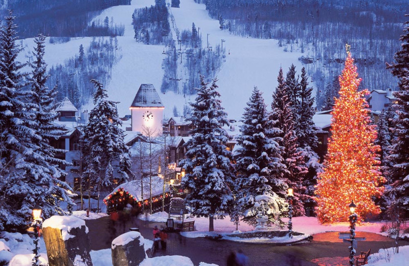 Winter at Vail Run Resort.