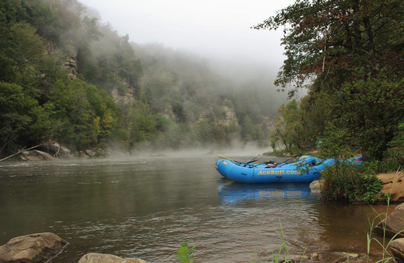 Rafting at ACE Adventure Resort.