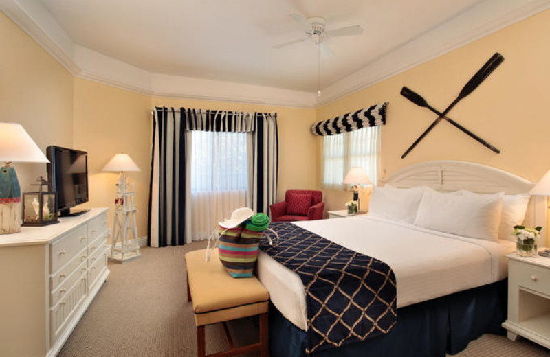 King Bedroom at Pismo Lighthouse Suites