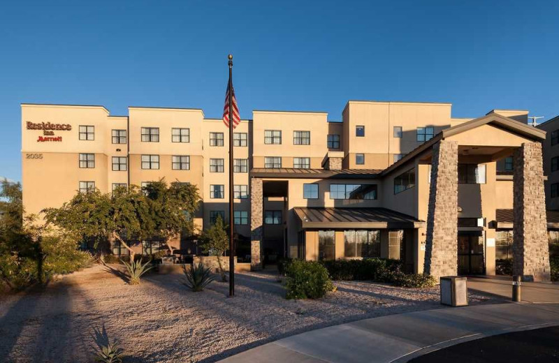 Exterior view of Residence Inn Phoenix North/Happy Valley.