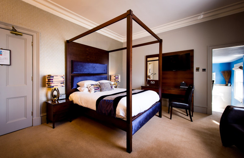 Guest room at Parklands Hotel and Restaurant.