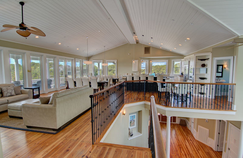 Rental interior at Exclusive Properties - Isle of Palms.