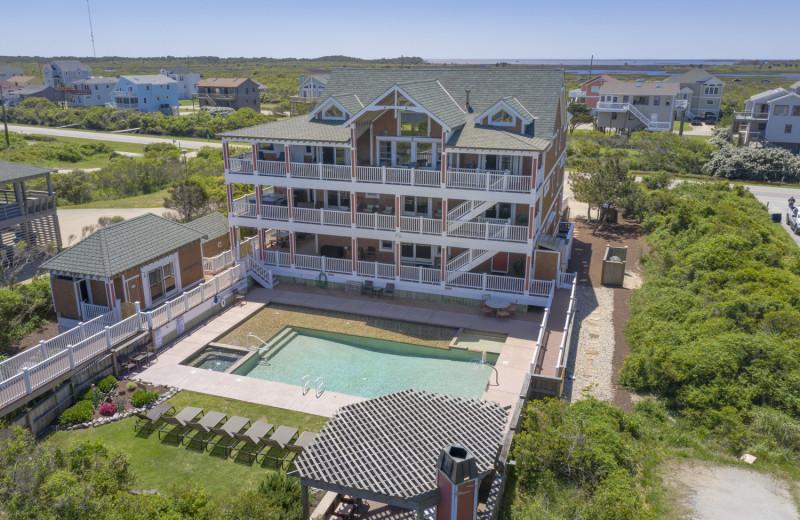Rental exterior at Joe Lamb Jr. & Associates Vacation Rentals.