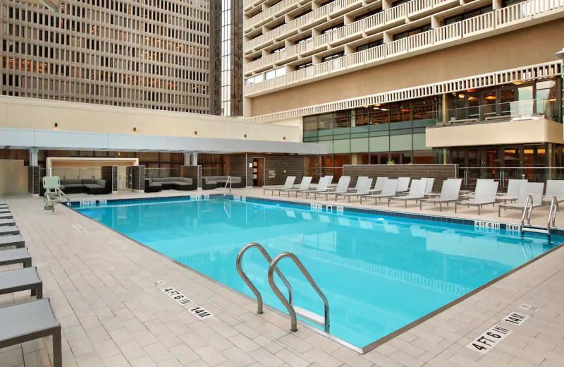 Pool at Hyatt Regency Atlanta.