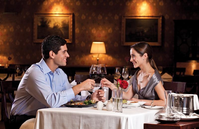 Dining at Hotel Plaza San Francisco.