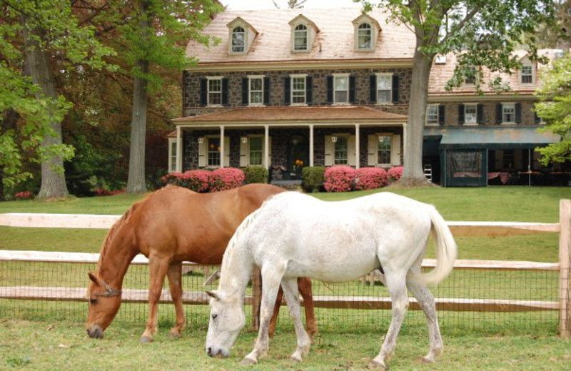 Exterior view of Sweetwater Farm.