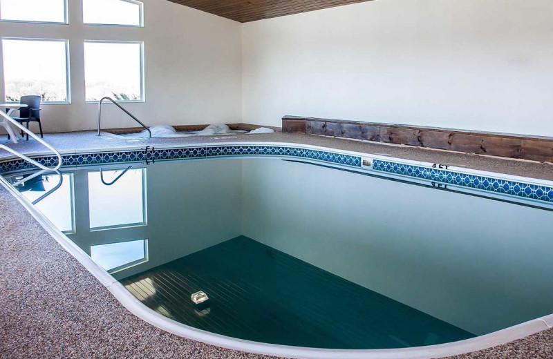 Indoor pool at Comfort Inn Fergus Falls.