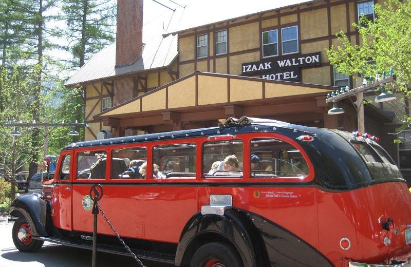 Exterior view at Izaak Walton Inn.