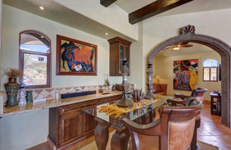 Dining room at Casa Mar y Estrella.