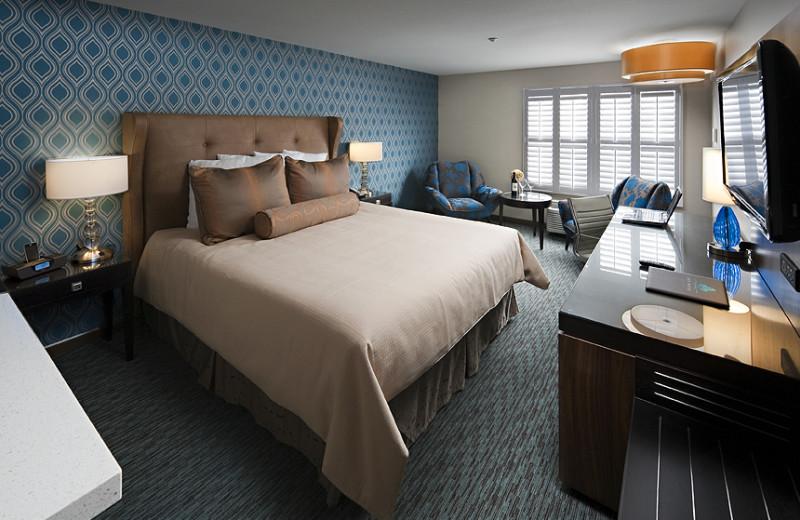 Guest room Ivy Hotel Napa Valley.