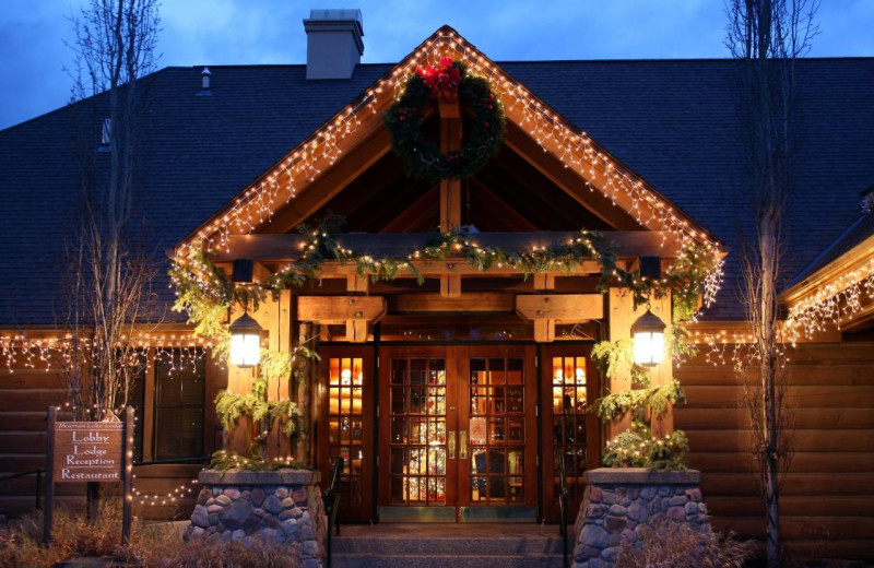Holidays at Bigfork Mountain Lake Lodge.