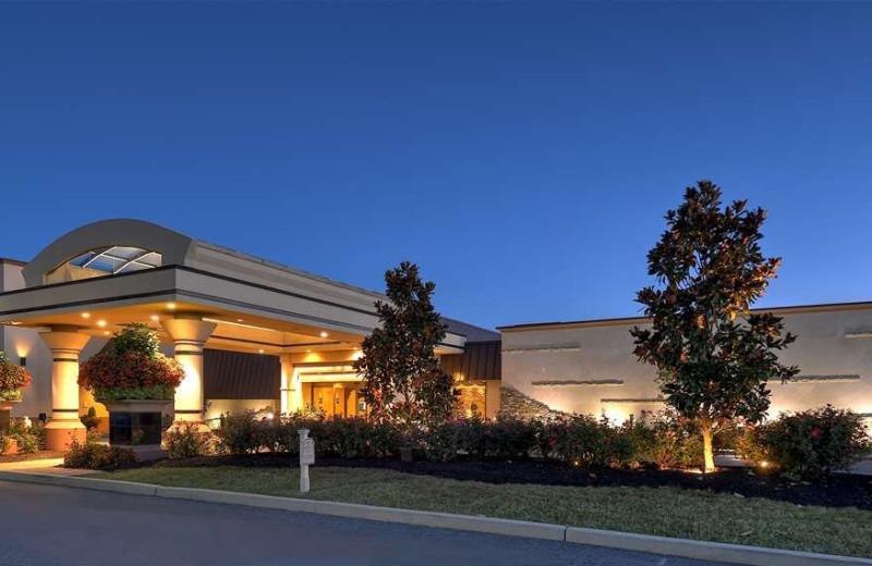 Exterior view of Eden Resort and Suites.