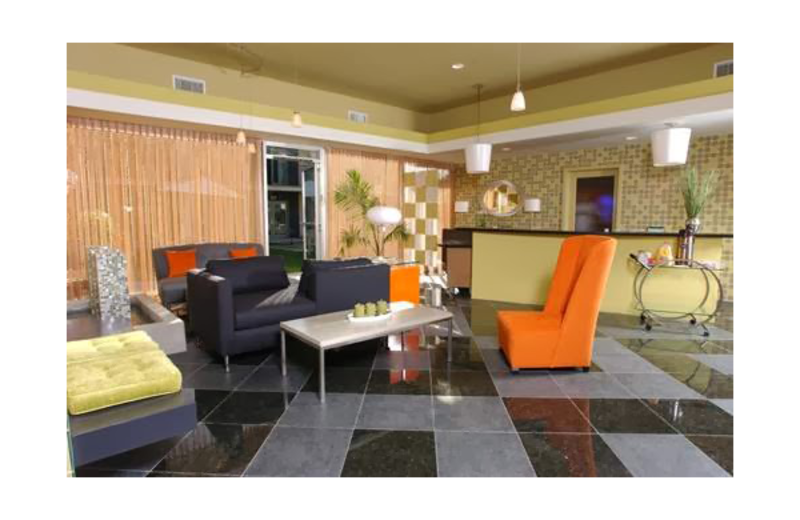 The lobby at 7 Springs Inn & Suites.