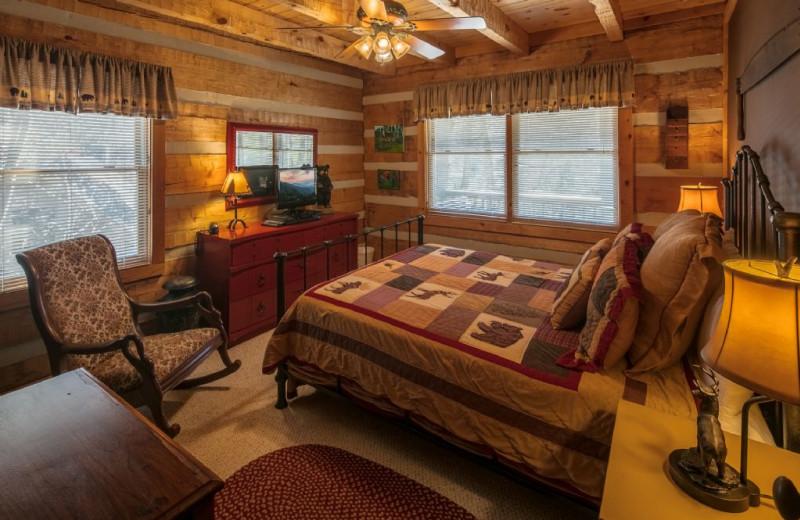 Rental bedroom at Foscoe Rentals.