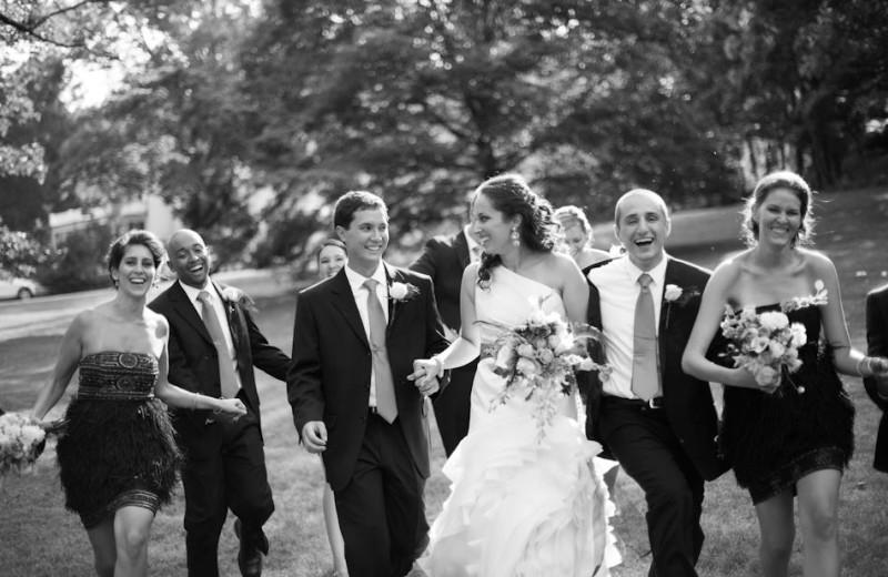 Wedding at Inn at Monticello.