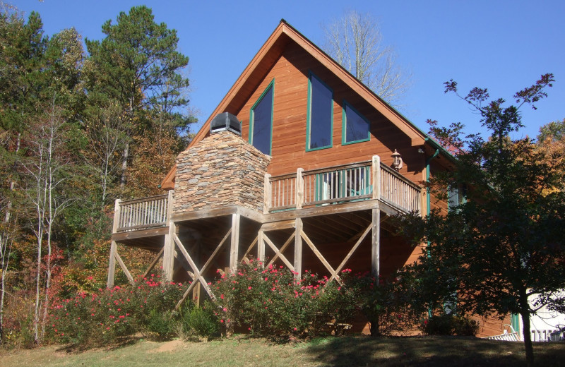 Cabin exterior at Paradise Hills Resort and Spa.