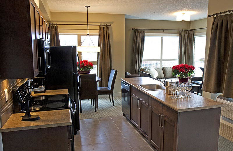 Penthouse Kitchen at Old House Village Hotel and Spa