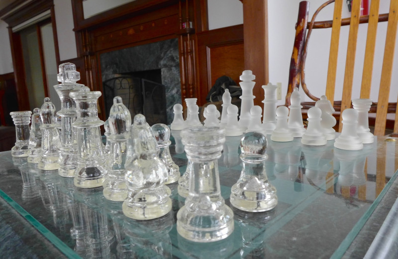 Chess at B & B Ranch.