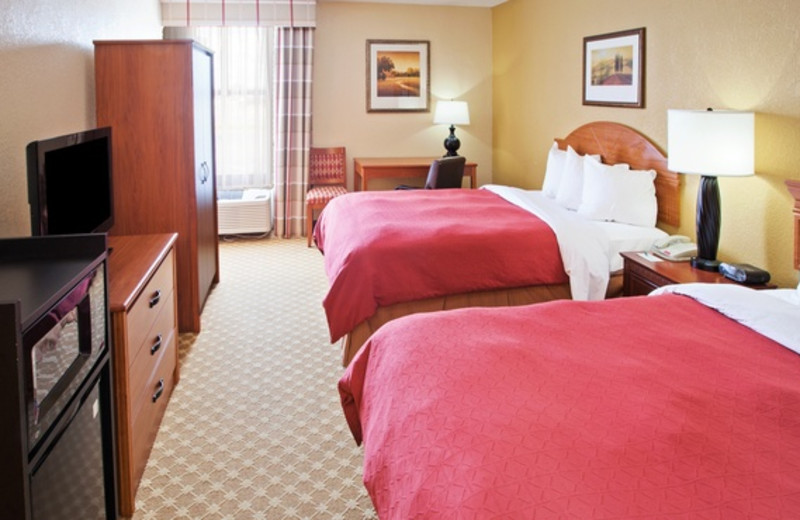 Guest room at Country Inn & Suites.