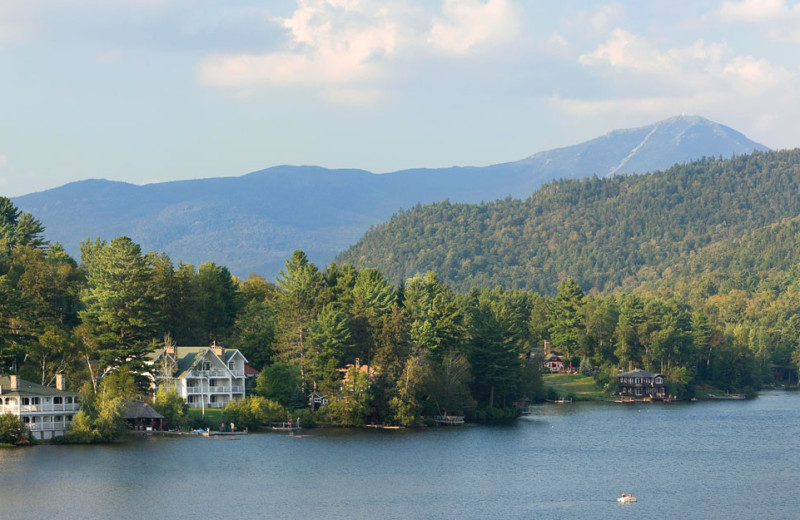 Lake view at Mirror Lake Inn Resort & Spa.