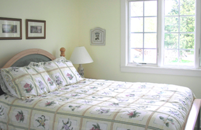 Bedroom at Cottage at Long Haul