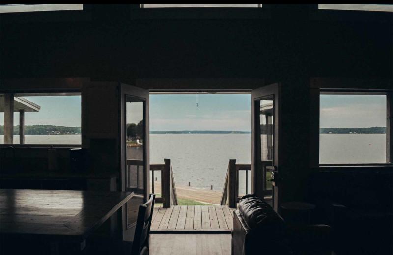 Beach view at D'Arbonne Pointe.