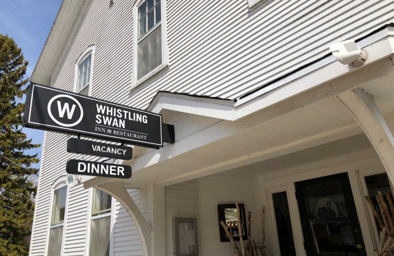 Exterior view of The Whistling Swan Inn.