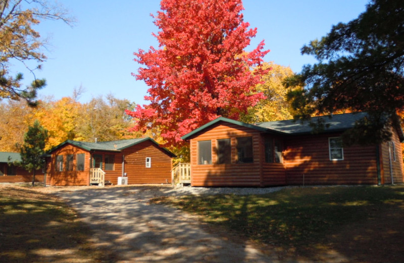 Cabins at Lakewood Lodge.