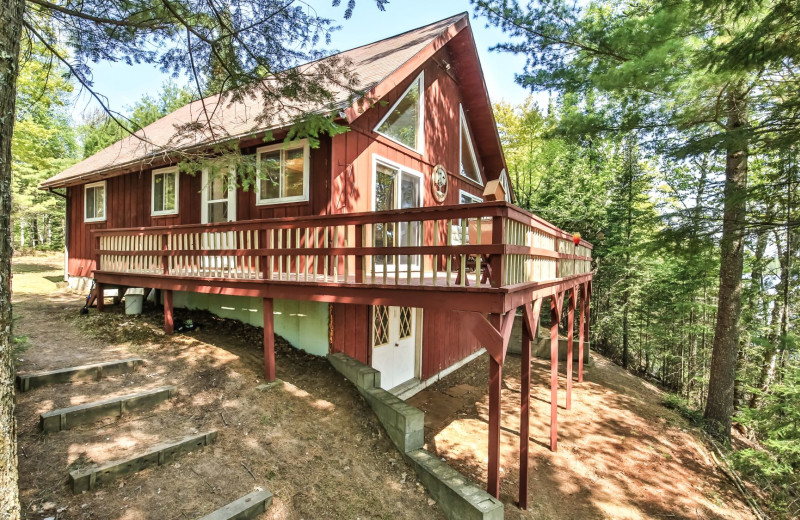Rental exterior view of Hiller Vacation Homes.
