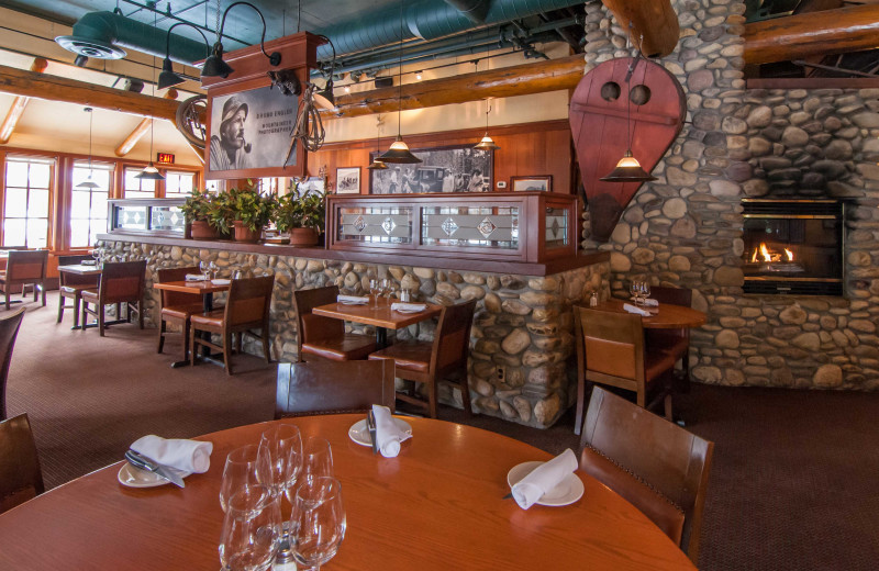 Dining at Banff Caribou Lodge & Spa.