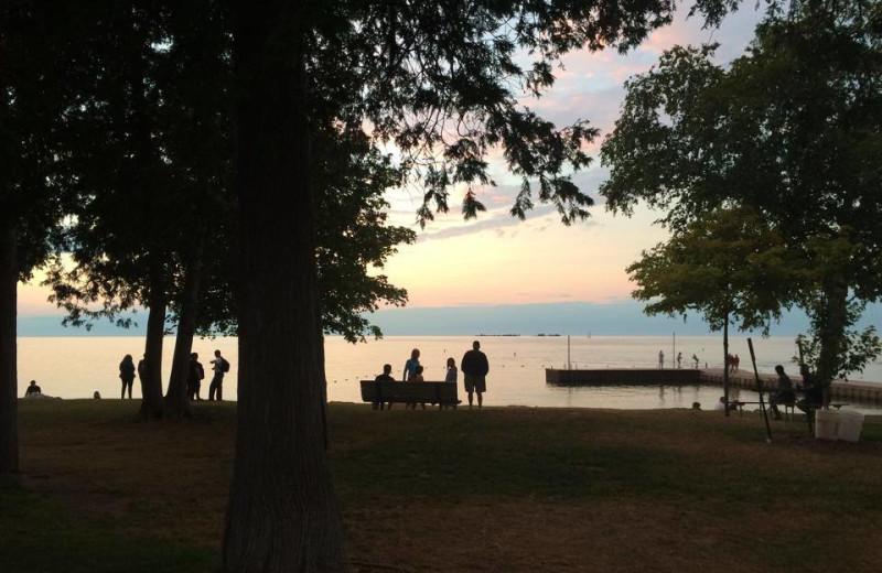 Lake at Open Hearth Lodge.