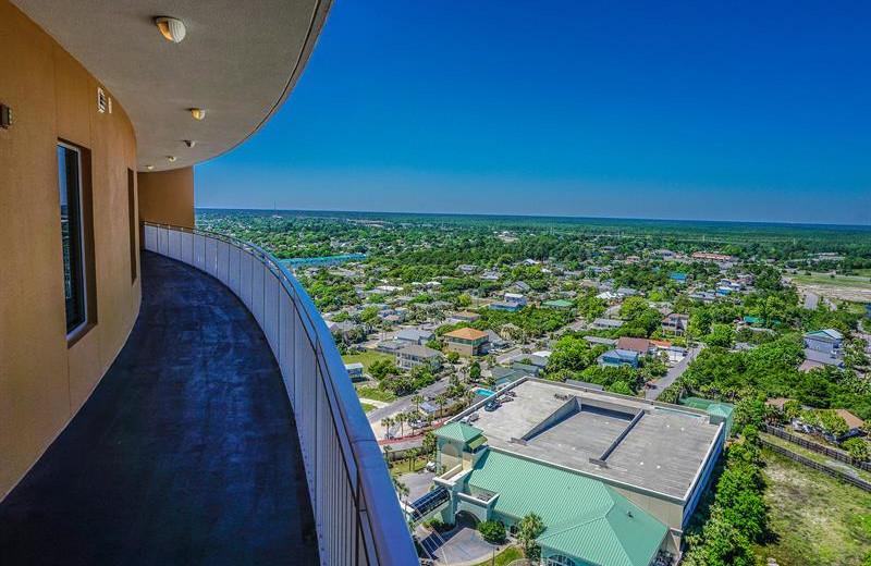 Balcony at Splash Resort.