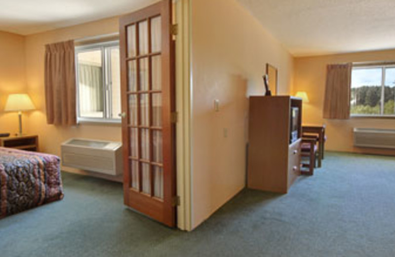 Suite interior at Days Inn Hinckley.