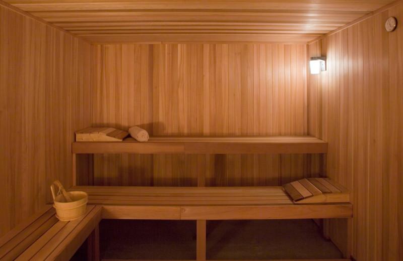 Sauna at Hyatt Regency Lost Pines Resort and Spa.