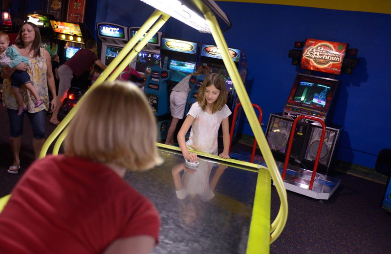 Arcade at Timber Ridge Lodge & Waterpark.