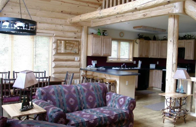 Rental interior at Sand County Service Company - Bluff View.