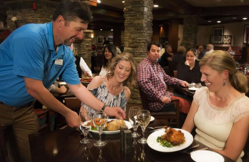 Dining at Beaver Run Resort & Conference Center.