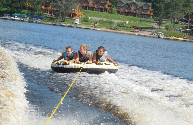 Water tubing at Big Sandy Lodge & Resort.