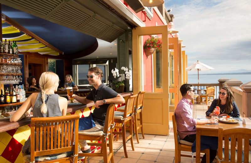 Enjoy remarkable ocean views and unforgettable cuisine at Schooners Coastal Kitchen & Bar