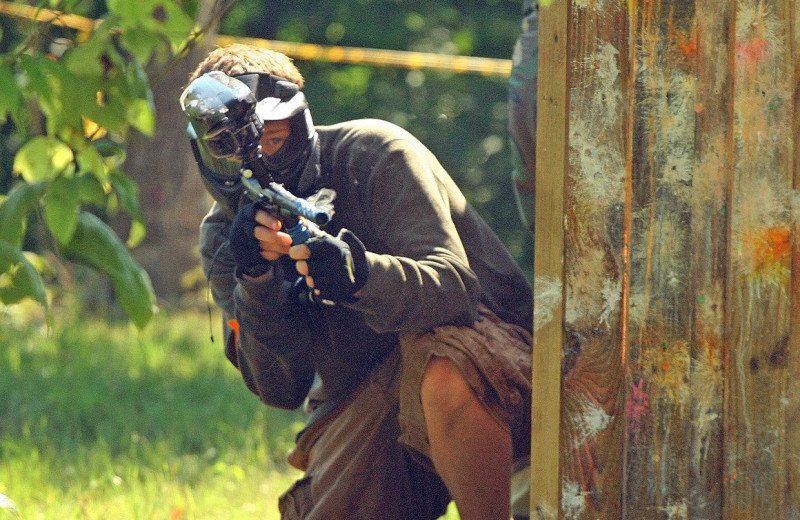 Paintball at ACE Adventure Resort.