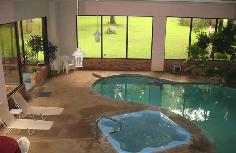 Indoor pool at Sassafras Inn Bed & Breakfast.