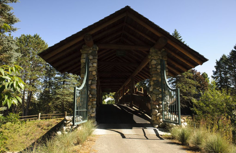 Bridge at Garland Lodge & Resort.