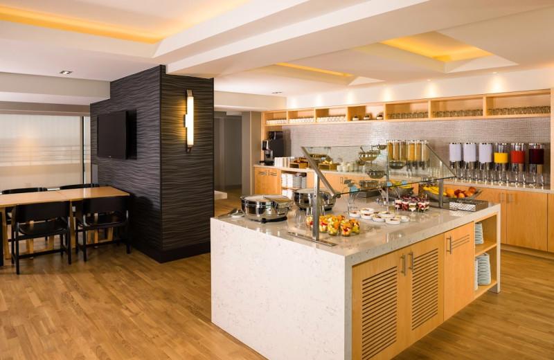 Breakfast room at Manchester Grand Hyatt San Diego.