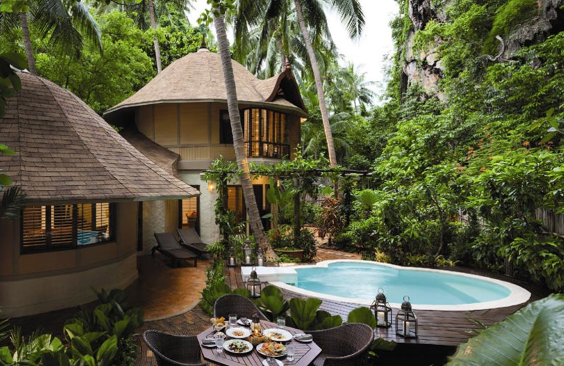 Family villa at Rayavadee Premier Resort.