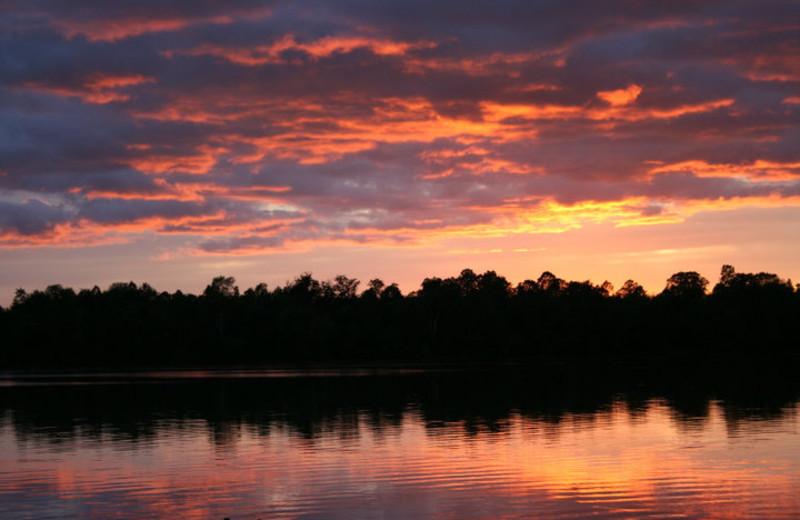 Sunset at Kangaroo Lake Resort