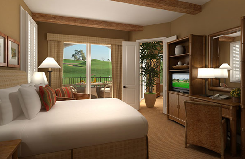 Guest room at Arizona Grand Resort.